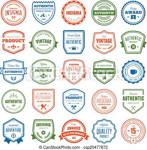 Placa y colección de etiquetas - csp20477872