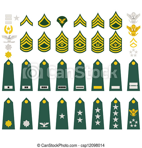 Insignia Of The Us Army Epaulets Military Ranks And Insignia