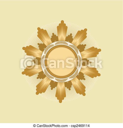 Insignia -  star shaped - csp2469114