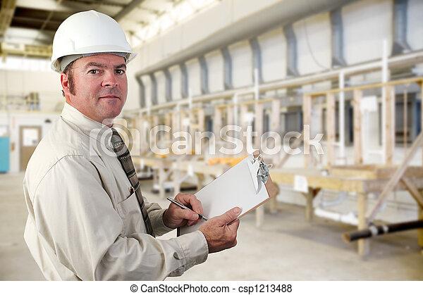 inspecteur, industriebedrijven - csp1213488