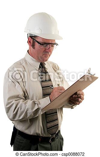 inspetor, construção, 4 - csp0088072