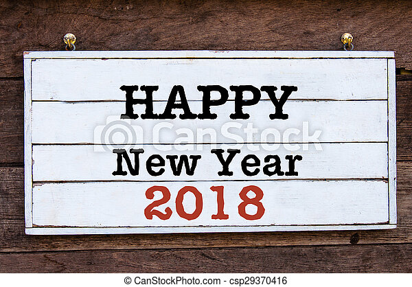 Inspirational message - happy new year 2018. Happy new year 2018 ...