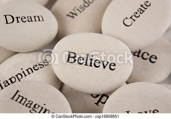 Inspirational stones - csp16808851