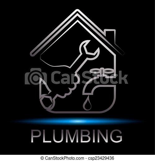 Reparar el diseño de fontanería - csp23429436