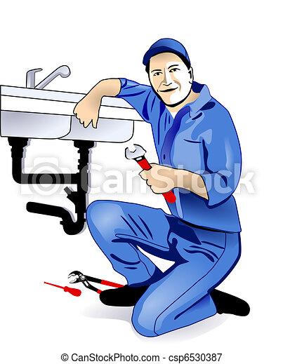 installatiebedrijf, keuken - csp6530387