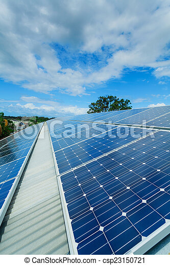 installation, solar panel - csp23150721