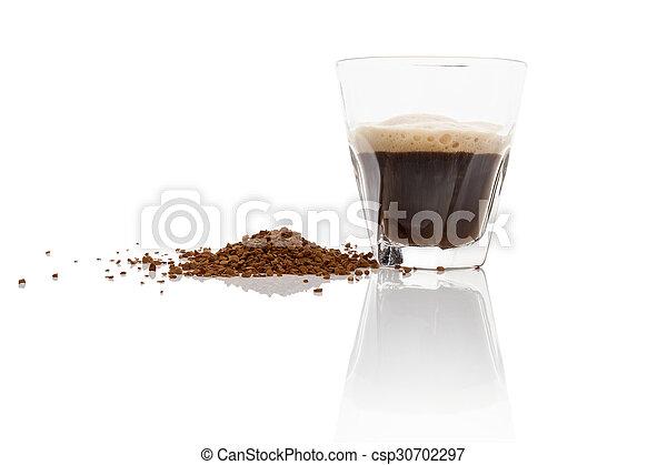 Instant coffee. - csp30702297