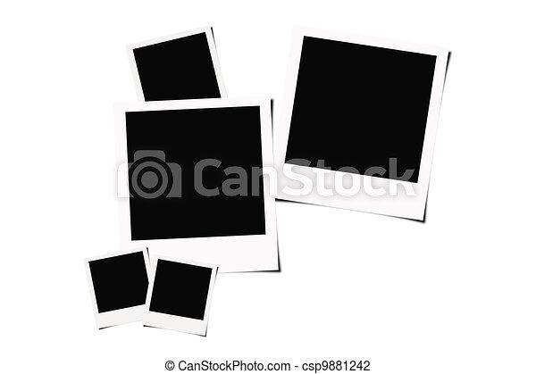 Instant film background polaroid instant films isolated on instant film background stock illustration voltagebd Image collections