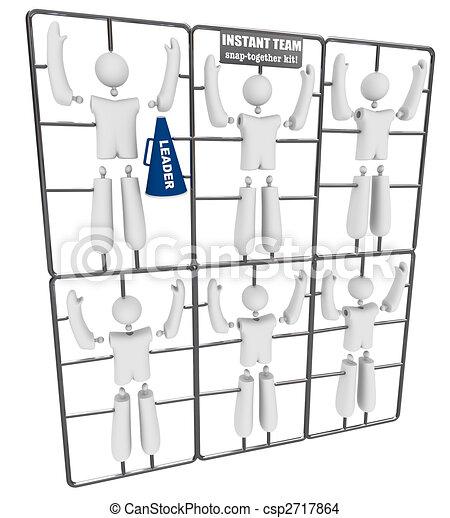 Instant Team - Snap Together Model Kit - csp2717864