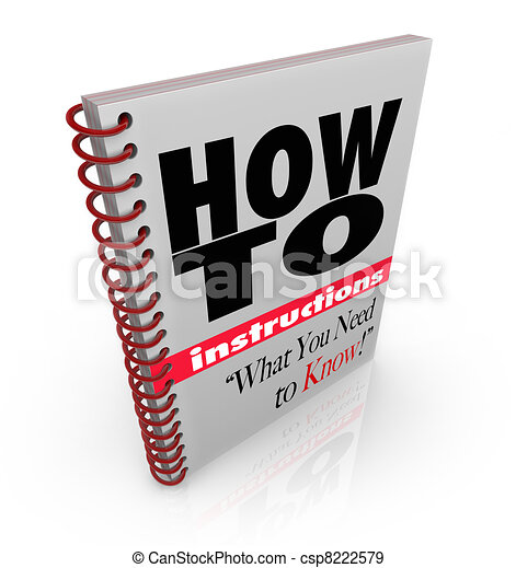 Instruction book how to do it yourself manual a spiral bound book instruction book how to do it yourself manual csp8222579 solutioingenieria Choice Image