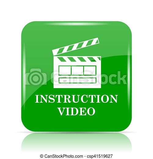 Instruction video icon - csp41519627