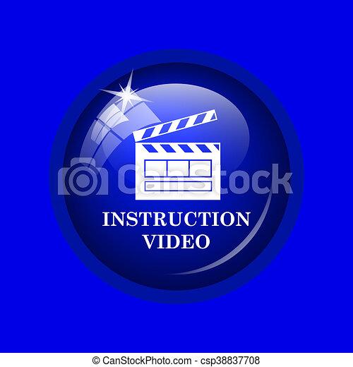 Instruction video icon - csp38837708