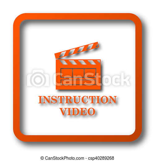 Instruction video icon - csp40289268