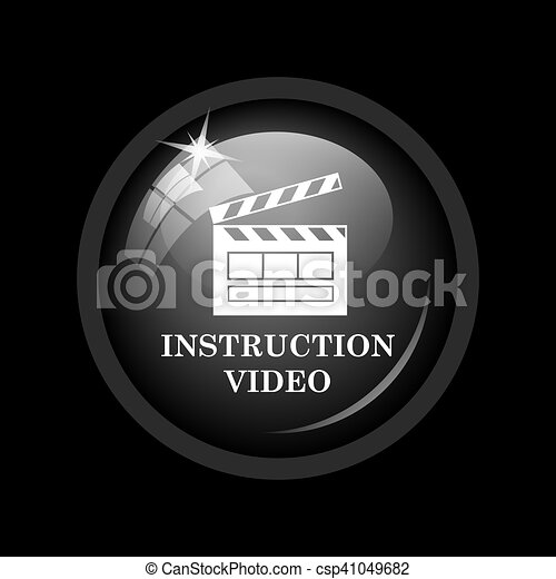 Instruction video icon - csp41049682