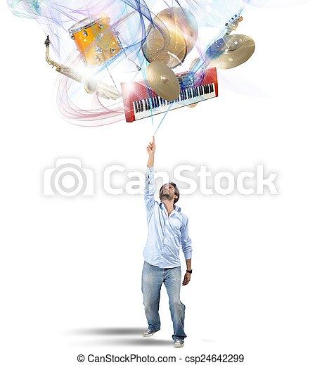 instrument, wybierać - csp24642299