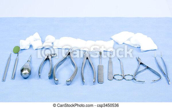 instrumente, dental - csp3450536