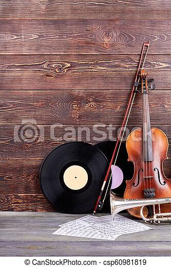 instrumentos, cópia, jogo, musical, space. - csp60981819