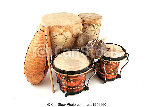 instrumentos, latim, ritmo - csp1946860