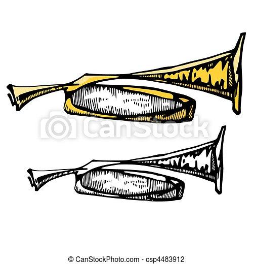 instrumentos, música - csp4483912