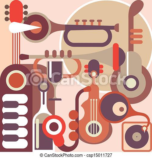 Instrumentos musicales - csp15011727