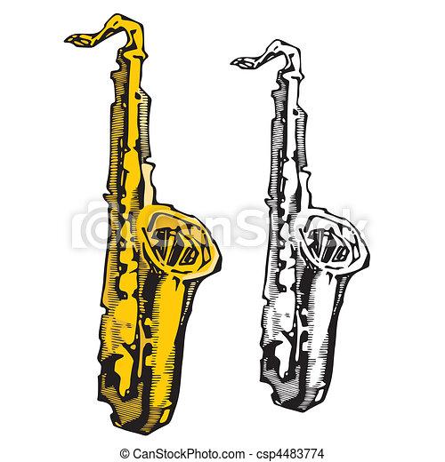 instrumentos, música - csp4483774