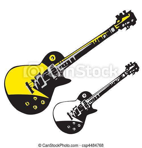 instrumentos, música - csp4484768