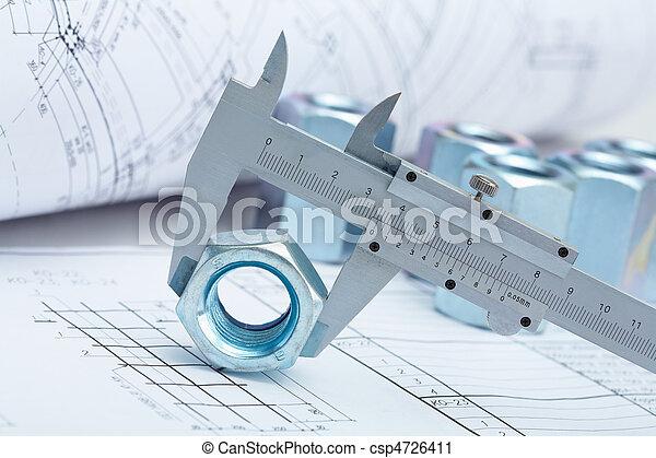 instrumentos, trabajando - csp4726411