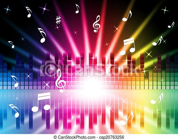 Fabulous Illustrations sous licence de instruments, couleurs, musique, fond  UL41