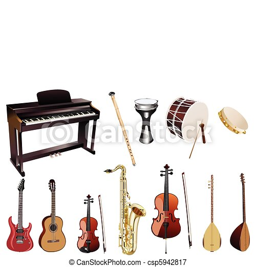 instuments, musica - csp5942817