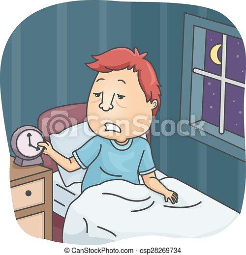 Insufficient Sleep - csp28269734