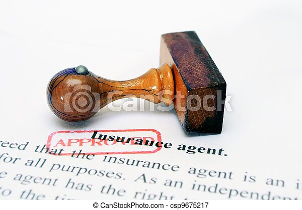Insurance agent - csp9675217