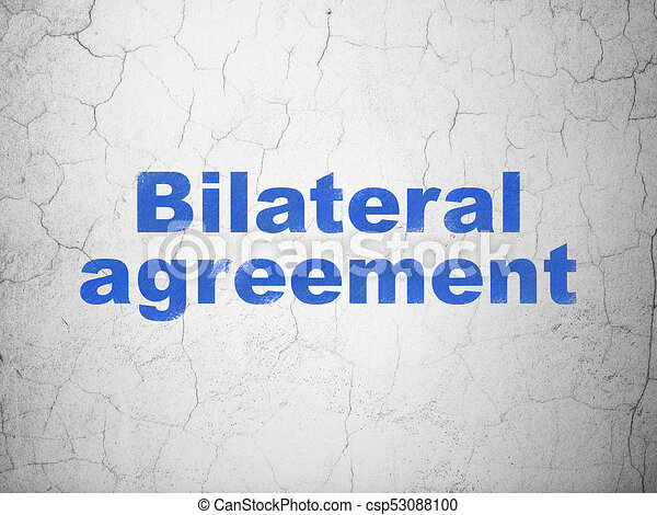 Insurance Concept Bilateral Agreement On Wall Background Insurance