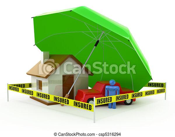 Insurance concept - csp5316294