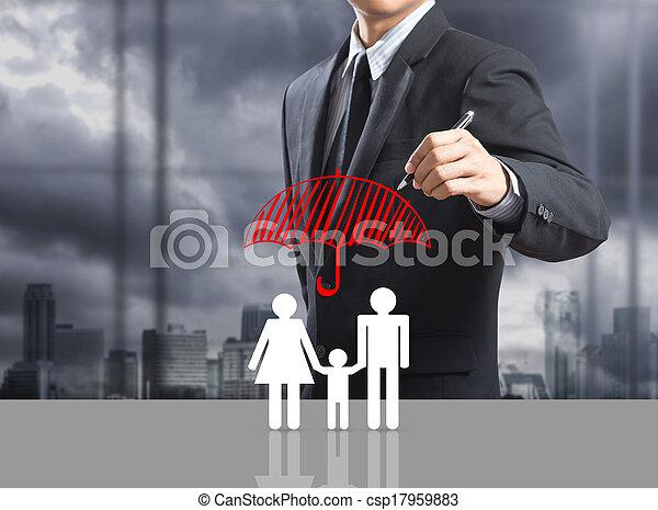 Insurance concept - csp17959883
