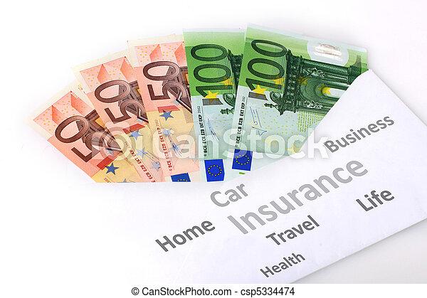 Insurance concept. - csp5334474