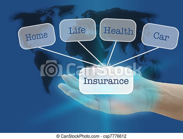Insurance concept - csp7776612