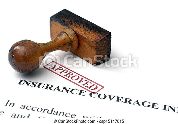 Insurance coverage - approved - csp15147815