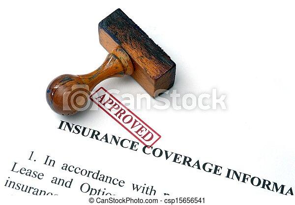 Insurance coverage - csp15656541