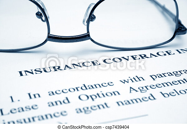 Insurance coverage - csp7439404