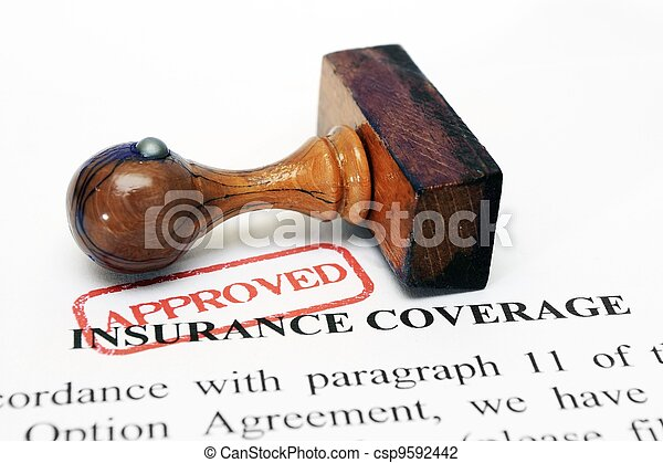 Insurance coverage - csp9592442