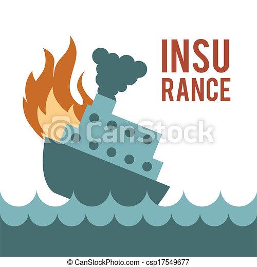 insurance design  - csp17549677
