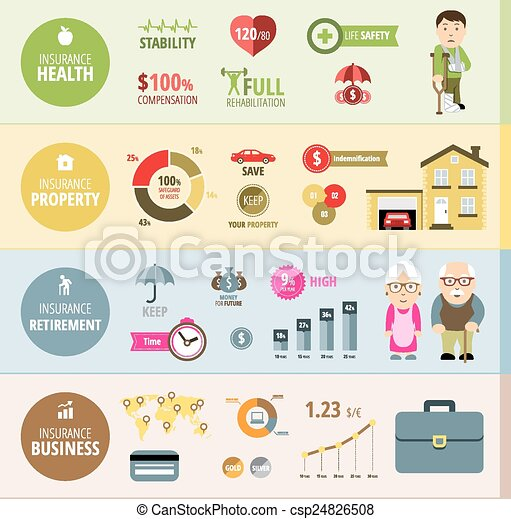 Insurance Infographic Banners Insurance Infographic Life Insurance