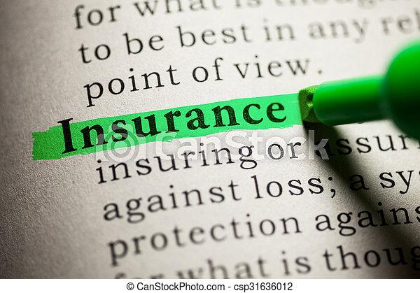 Insurance - csp31636012