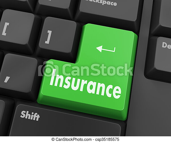 insurance - csp35185575