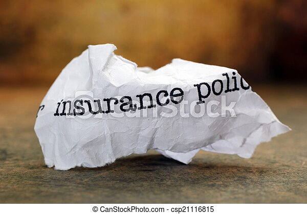 Insurance policy - csp21116815