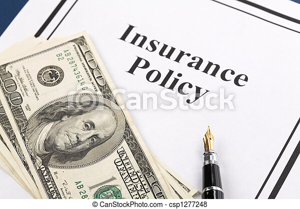 Insurance Policy - csp1277248