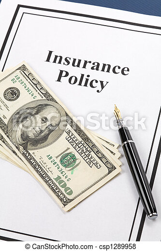 Insurance Policy - csp1289958