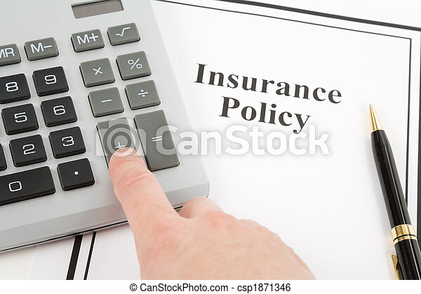 Insurance Policy - csp1871346