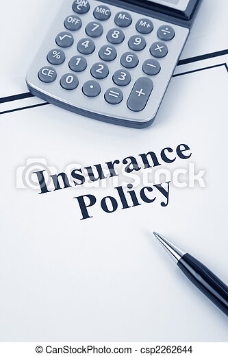 Insurance Policy - csp2262644
