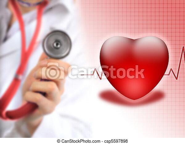 Seguro de salud. - csp5597898